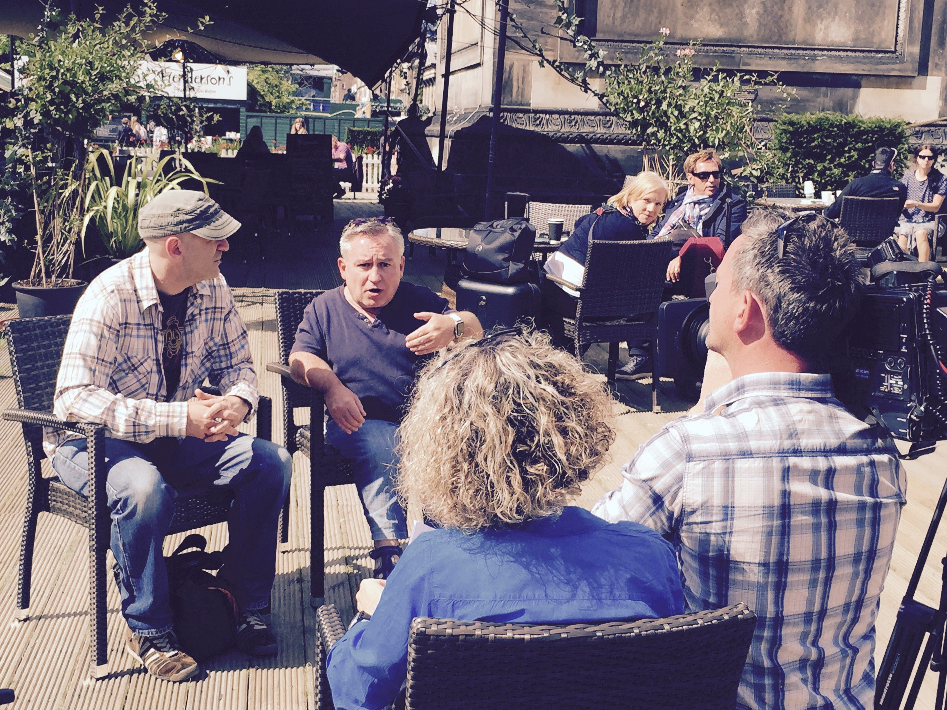 Edinburgh Fringe 2015 German TV interview with Steve Best